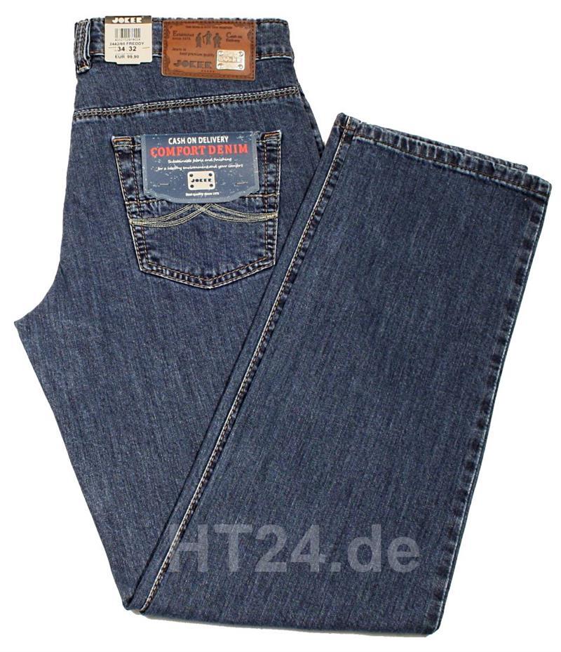 joker jeans freddy 2442 66 stone blue von w32 bis w42 stretch herrenjeans ebay. Black Bedroom Furniture Sets. Home Design Ideas